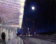 David FeBland, 1949 | Expressionist Cityscape painter | Tutt'Art@ | Pittura * Scultura * Poesia * Musica |