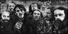 Hawkwind 1973 (Lemmy 3rd left)
