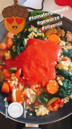 Veggiepfanne mit Tomatenpassata zuckerfrei