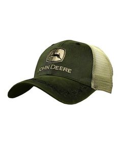 John Deere Green Wake Baseball Hat Cap