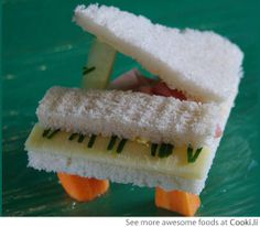 Piano sandwich See More at http://www.cooki.li/ -