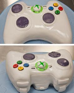 xbox controller groom's cake