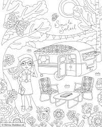 playing outside coloring pages summer vacation childrens ministry curriculum ideas pinterest plays kids s and camping