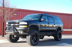 Lifted 2004 Z71 Suburban