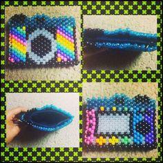 My Rainbow Camera Wallet by MissRainbowSprinkles - Kandi Photos on Kandi Patterns