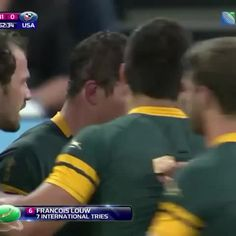 Victory tastes sweet for @FloLouw  #RSAvUSA vine.co/v/e2LJ3i17Zm7 Rugby World Cup, Victorious, Baseball Cards, Sweet, Life, Candy