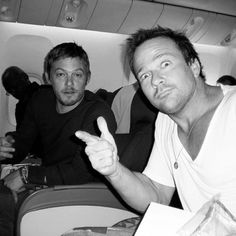 Norman Reedus and Sean Patrick Flanery