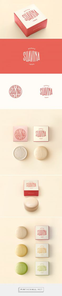 Seriously loving the work that Lavernia & Cienfuegos has been creating. Suavina lip balm rebrand by Lavernia & Cienfuegos. Source: Behance. Pin curated by #SFields99 #packaging #design #inspiration #ideas #rebrand #product #beauty