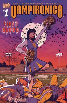 VAMPIRONICA #1 CVR A REG 3/14/2018 Archie Comic Books, Archie Comics, Comic Books Art, Comic Art, Book Art, Horror Comics, Horror Art, Horror Films, Afterlife With Archie
