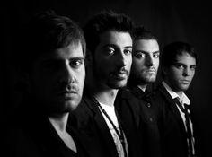 Band promo photo- great dramatic lighting.