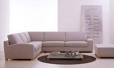 Divani dal design essenziale, concreto e minimalista. Divano angolare moderno Manchester - Tino Mariani http://www.tinomariani.it/prodotti/manchester.html
