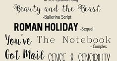 I love fonts, especially to use for Courage for the Week posts!  Here are some favorites, and they are all FREE!!       Here are the links...