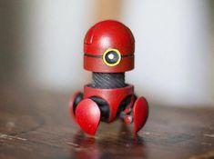 Desk O Bot Kit printed Hand Painted Version 3d Printing Business, 3d Printing Service, Arte Robot, Robot Art, Impression 3d, Conception Robot, Zoids, 3d Printed Robot, 3d Printing Machine