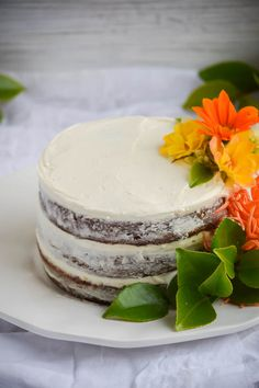 Naked Carrot Cake with Coconut Cream Cheese Frosting (10)