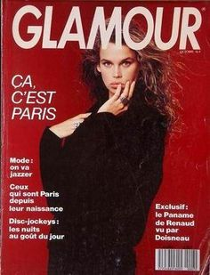GLAMOUR France - Nº 7 - October 1988 Glamour France, 80s And 90s Fashion, Paris Mode, Supermodels, October