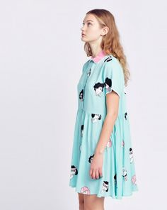 Lazy Oaf Pink Bitches Dress - Spring 2016 - Seasons - Womens