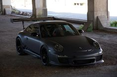 Blacked out Porsche 911 997 GT3 RS