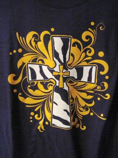 COWGIRL WESTERN PURPLE AND GOLDEN YELLOW ZEBRA CROSS XL SHIRT x #GraphicTee our prices are WAY BELOW RETAIL! all JEWELRY SHIPS FREE! www.baharanchwesternwear.com baha ranch western wear ebay seller id soloedition
