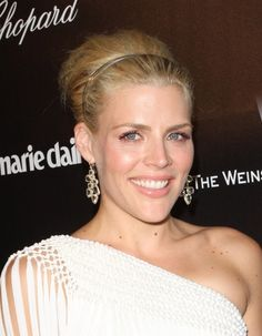 Busy Philipps braided hairstyle