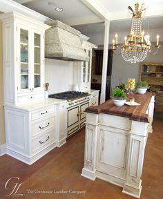 Walnut Wood Countertop Kitchen Island New Orleans Louisiana Https Www Glumber