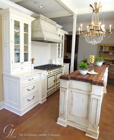 Walnut Wood Countertop Kitchen Island New Orleans, Louisiana
