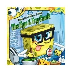 kids reading basket: The Eye of the Fry Cook #spongebob