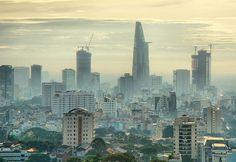 Ho Chi Minh City - modern  Saigon, Vietnam