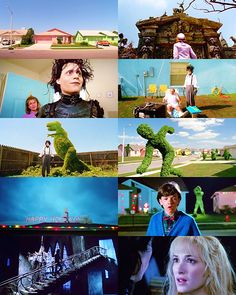 BLUE in Edward Scissorhands (suggested bysuchasadaffair) for the color meme