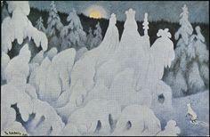 Theodor Kittelsen - Vintereventyr