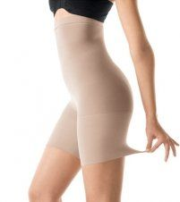 SPANX Higher Power High-Waisted Power Panty, B, Bare #shapewear