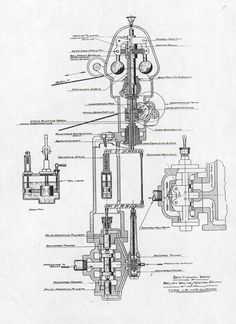 A Woodward Governor Company aircraft propeller engine