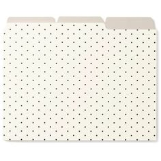 Kate Spade New York Blackdots File Folders - Women's ($16) ❤ liked on Polyvore featuring home, home decor, office accessories, bags, office supplies, filler, kate spade office supplies and kate spade