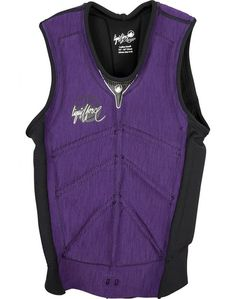 Liquid Force Womens Cardigan Comp Life Vest in Purple