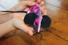 Taco Mouse Tutorial by Rose. A beginner sewing project using the Sew Cool Sewing Machine!