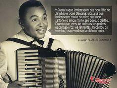 2 de agosto - 24 anos sem Luiz Gonzaga. #luizgonzaga #mensagenscomamor #frases #música