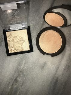Wet n Wild Golden Flower Crown ($5.00) is a perfect dupe for Becca Champagne Pop($38.00)
