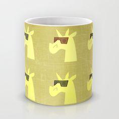 Golden Shades of Unicorn Mug by That's So Unicorny | Society6