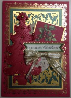 Anna Griffin papers and embellishments