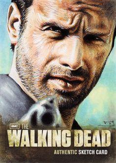 Rick Grimes by Trev Murphy #TWD #WalkingDead