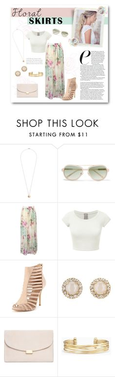 """Floral Skirts"" by lalalaballa22 ❤ liked on Polyvore featuring Dorothy Perkins, 3.1 Phillip Lim, WithChic, Kate Spade, Mansur Gavriel, Stella & Dot and Floralskirts"