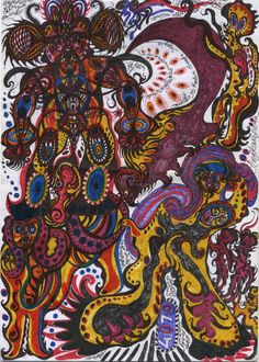 Noviadi Angkasapura Untitled, 2014 Ink on found paper 11.75 x 8.25 inches 29.8 x 21 cm NoA 106