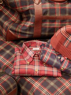 Back by popular demand, the Brooks Brothers signature tartan #BBFall2014