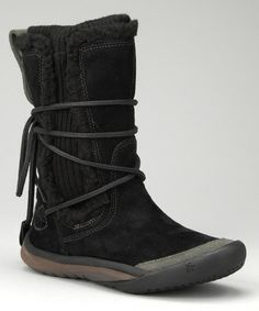 Take a look at this Black IT Boot - Women by Cushe on #zulily today! Great black boots.