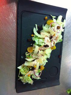 salade César @hotel new solarium courchevel
