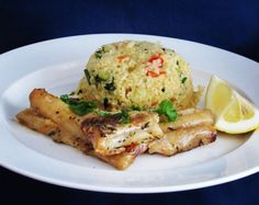 Food And Drink, Fish, Meat, Chicken, Veronica, Recipes, Bulgur, Cooking, Pisces