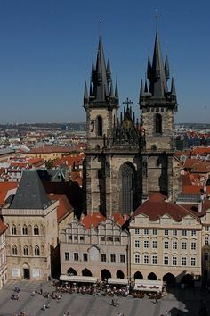 Prague, you beautiful old thing