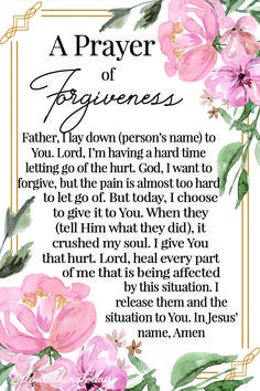 What does the Bible say about #forgiveness? Learn lessons from scripture on the power of forgiveness and how it will heal you and your relationships. #forgivenesslessons #forgivenessscriptures #scriptures #bibleverses #relationships #powerofforgiveness #bibleversesonforgiveness