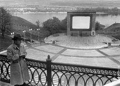 Зеленый театр после открытия в 1949-м году.