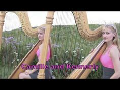 #Only #Time - #Enya - #Harp #Duet - #Camille and #Kennerly, Harp #Twins