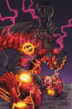 The Flash vs Reverse Flash by Francis Manapul